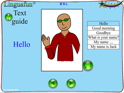 learning BSL